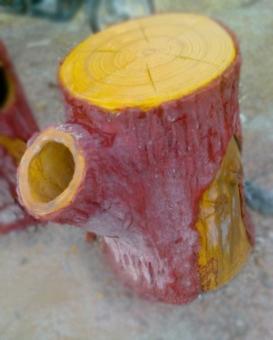 仿真木產品制作