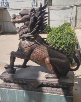 天津動物銅雕