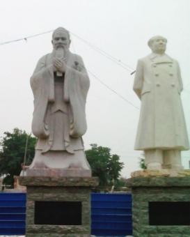 天津名人石雕