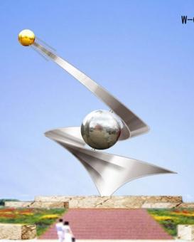 不銹鋼景觀雕塑